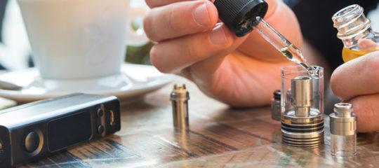 E-liquide pour une première cigarette électronique